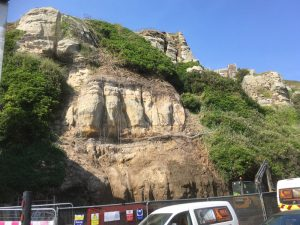 Rock-A-Nore Road, Geotechnical, Hastings Borough Council