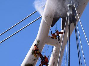 newport city bridge work